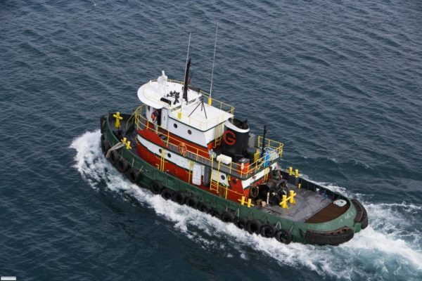 Model Bow Tug Boat