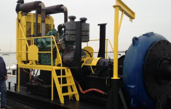 BP309: Detroit Diesel Powered 16 Inch Booster Pump