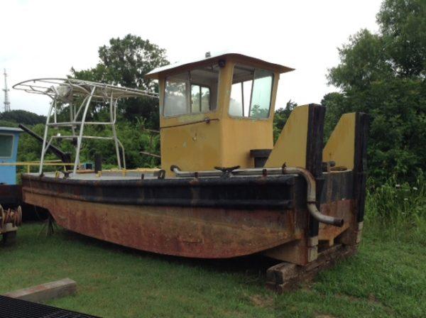 Truckable Push boat
