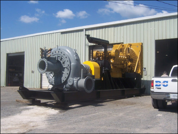 Booster Dredge Pump Assembly