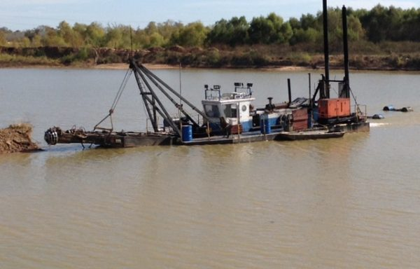 "UD476: Used 10"" cutter suction dredge"