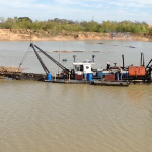 "Used 10"" cutter suction dredge"